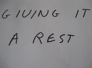 A rest